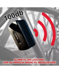 Abus alarm sort black til cykel og ladcykel